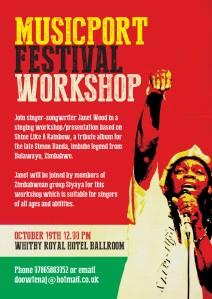 Musicport Festival workshop flyer