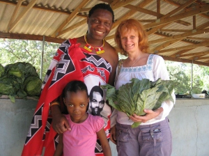 Buying food for the family in the rural areas